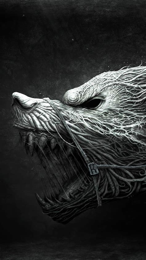 Beast Scary Wolf Wallpaper by Scary Best Htc One Wallpapers Free