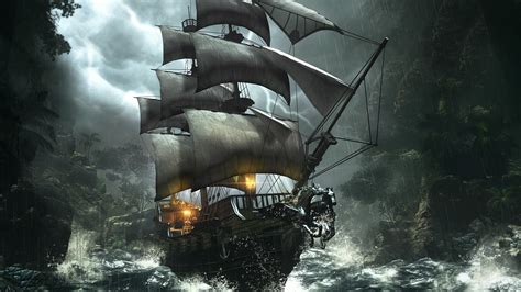 its not what ravens cry adventure rpg pirate ship