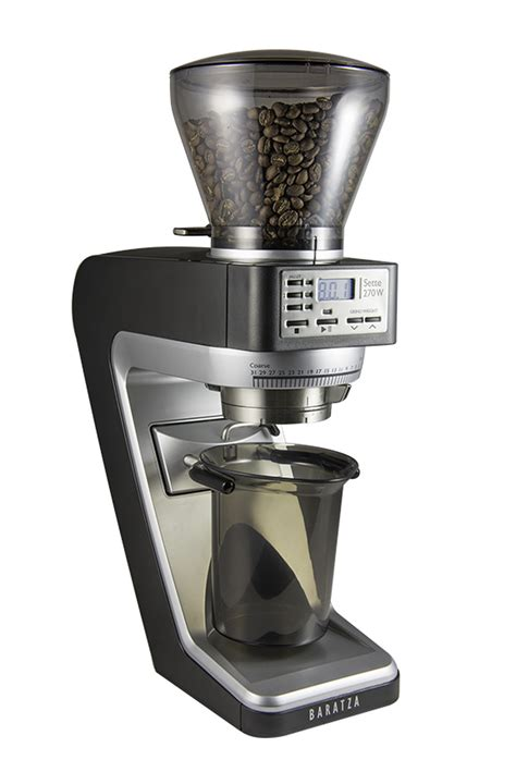 Previously if you wanted to measure the weight of the coffee ground into. Baratza Sette 270 Grinder - Visions Espresso Service, Inc.