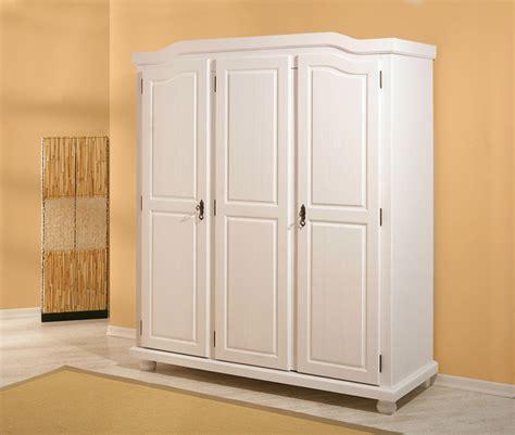 cuisine pin massif armoire 3 portes bastian blanc