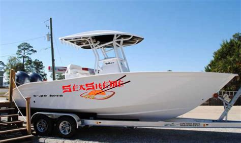 Boat Hull Decals by Custom Vinyl Graphics Decals Engines Reg Numbers