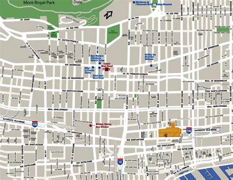 Carte De La Ville by Plan De La Ville Carte