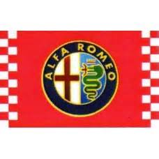 Alfa Romeo Checkered Automotive 3' X 5' Flag (f1508) By