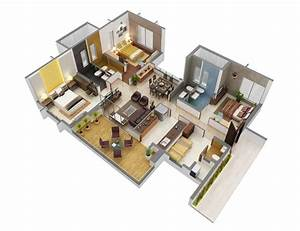 3 bedroom apartment house plans for Beautiful houses plan with 3 bedroom