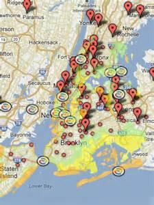 Hurricane Sandy Tracking Map