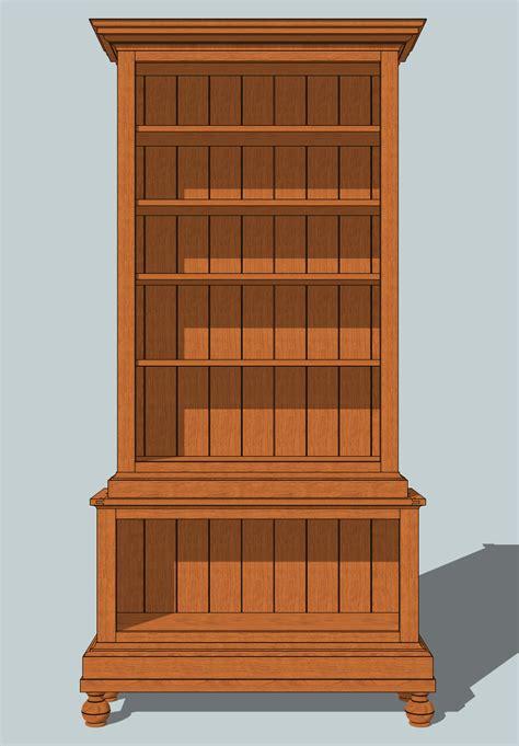 plans  building  bookcase oak bookcase plans