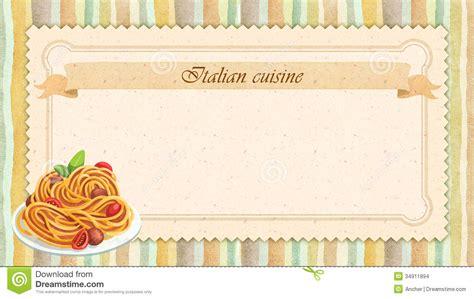 design cuisine cuisine restaurant menu card design in vintage