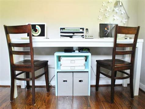 two person desk diy useful tips of two person desk home office homeideasblog com