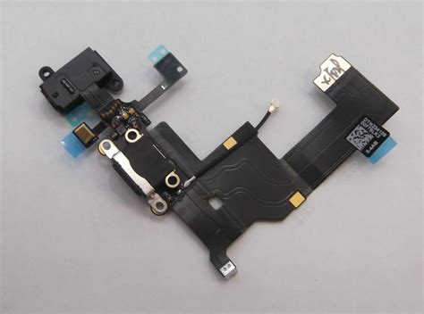 iphone 5 charging port charging port audio flex for iphone 5 black charging