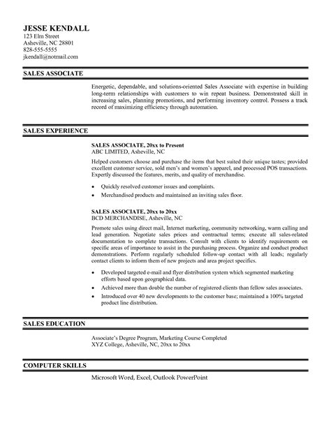 resume objective statement exles management by objectives high end retail resume