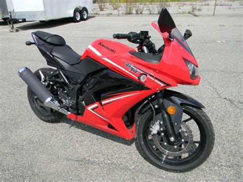 2012 Kawasaki Ninja 250r Sportbike For Sale On 2040-motos