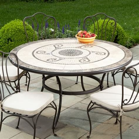 mosaic outdoor dining table dining table outdoor dining table mosaic