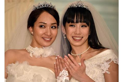 Japan Lesbian Couple Wed Amid Calls For Same Sex