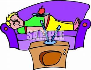 Watch clipart lazy kid - Pencil and in color watch clipart ...