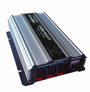 Vertamax 1500 Watt 12 Volt Pure Sine Wave Power Inverter