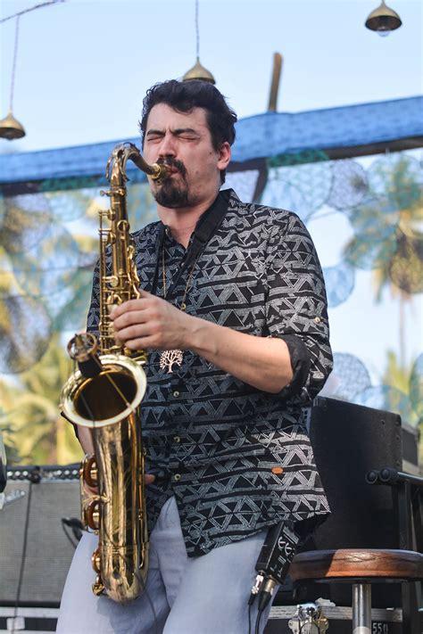 HD wallpaper: man playing saxophone, human, person ...