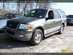 Estate Green Metallic - 2003 Ford Expedition Xlt 4x4