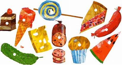 Hungry Caterpillar Very Cream Ice Clipart Story