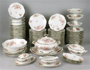 Service De Table Porcelaine : service vaisselle porcelaine de limoges ~ Teatrodelosmanantiales.com Idées de Décoration