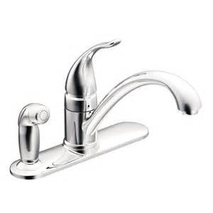 lowes moen kitchen faucets moen ca87484 torrance 1 handle low arc kitchen faucet with side spray lowe 39 s canada