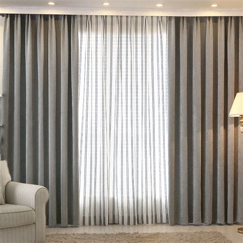 shade window blackout curtain fabric modern curtains for living room the bedroom kitchen window