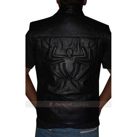 spiderman costume shattered dimensions noir jacket vest