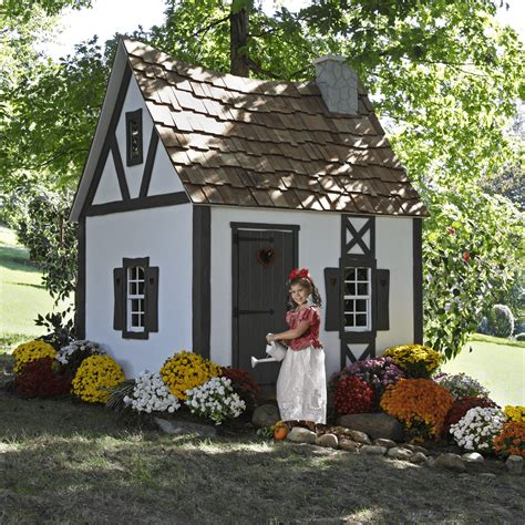 house cottage fairytale cottage lilliput play homes playhouses for