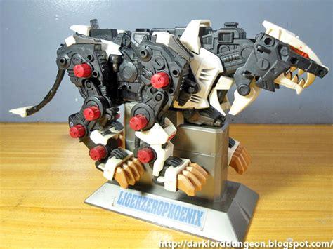 liger zero zoids armor geekmatic phoenix combine