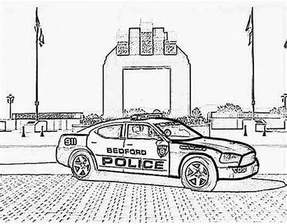 Police Coloring Bedford