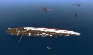 Minecraft Britannic Sinking