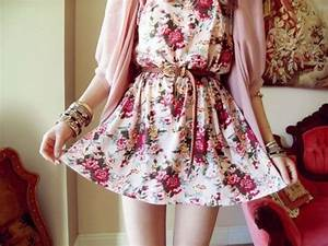 Dress: floral dress, cute outfits, casual dress, blouse ...