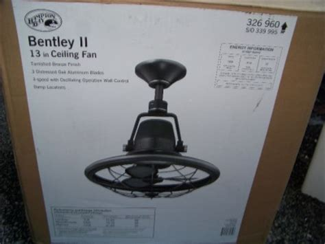 bentley ii ceiling fan hton bay bentley ii 13 in indoor outdoor oscillating