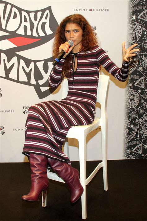 zendaya presents   tommy hilfiger collection