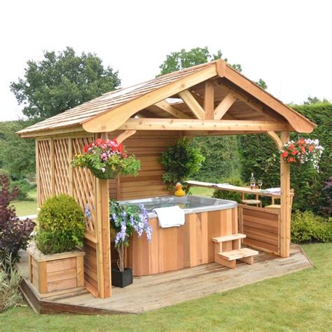 gazebo tub privacy ideas pictures to pin on