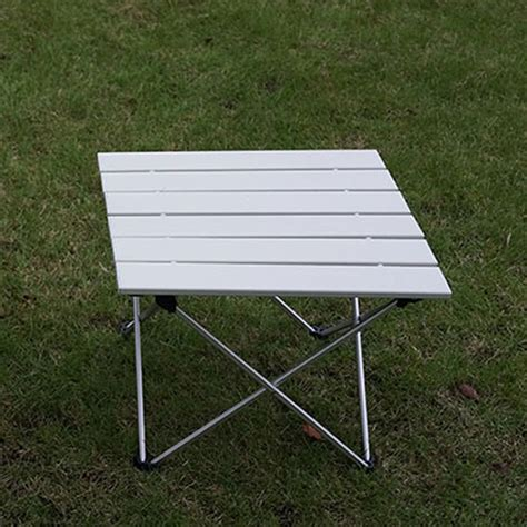 roll up aluminium table outdoor aluminum folding table portable roll up table