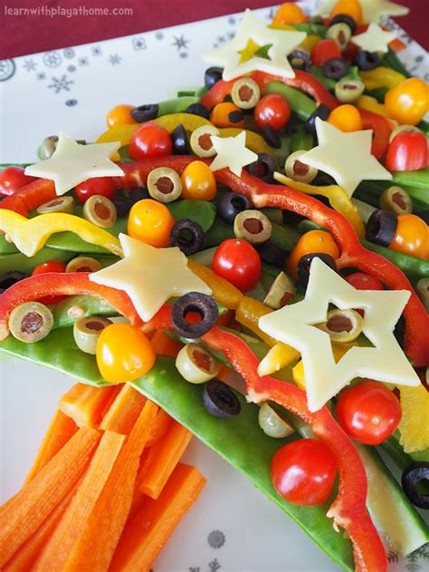 Keep it simple at christmas and use all the lovely vegetables that are in season. Learn with Play at Home: Healthy Veggie Christmas Tree ...