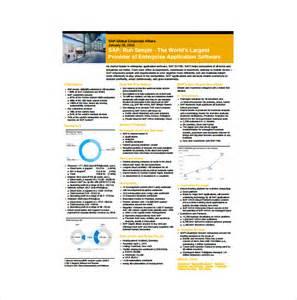 free fact sheet template
