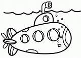 Submarine Coloring Cartoon Sheet Army Submarines Printable Dari Coloringpagesfortoddlers Bugs Beat Books Modern Disimpan Coloringfolder sketch template