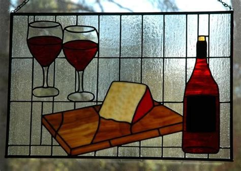 Kaboodle Wine Glasses by A Great Pair Delphi Artist Gallery Stain Glass