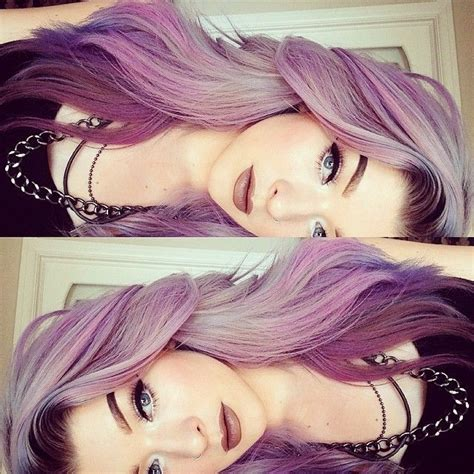 light purple hair dye hair colors polyvore