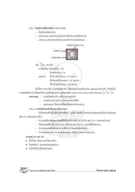 เซเรบอส Brands วิชาเคมี (176 หน้า