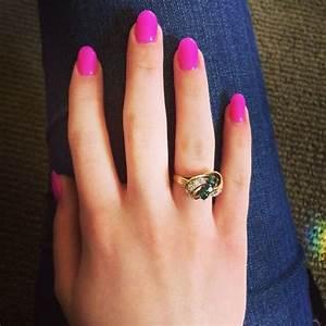 rounded acrylic nails | Nails | Pinterest | Rounded ...