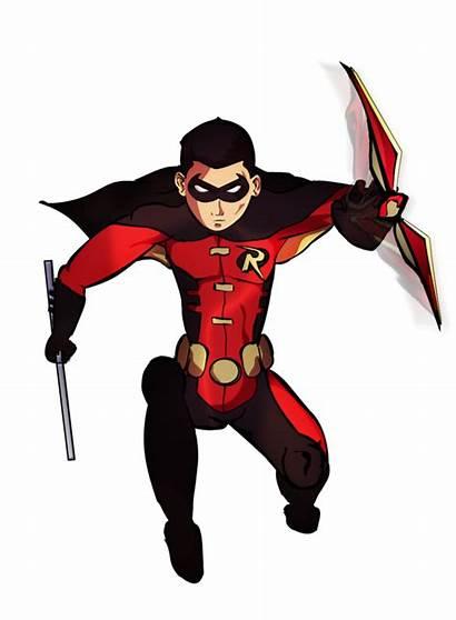 Robin Superhero Justice Young Transparent Clipart Deviantart
