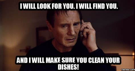 Housekeeping Meme - the gallery for gt clean your dishes meme