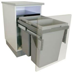 poubelle de tri selectif cuisine poubelles encastrables cuisine tri sélectif taille 15l