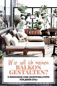 Deko Ideen Balkon : wie soll ich meinen balkon gestalten 5 dekoideen und tipps f r jeden stil ~ Frokenaadalensverden.com Haus und Dekorationen