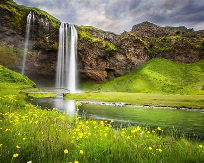 Nature Summer Waterfall Landscape River Wallpapers Wallpapers13