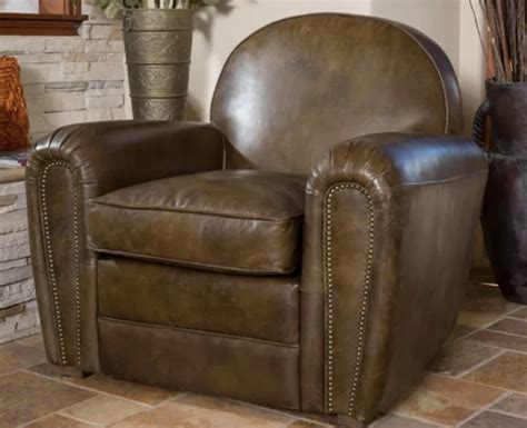 worn leather arm chair decorate your apartment in two style 1660
