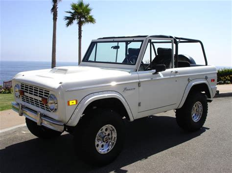 ford bronco white amazing photo gallery