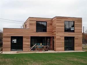 faire construire une maison en bois ou une maison With maison toit en verre 10 kits autoconstruction maison bois la maison bois par